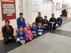 Kids BJJ promotion day July 2019