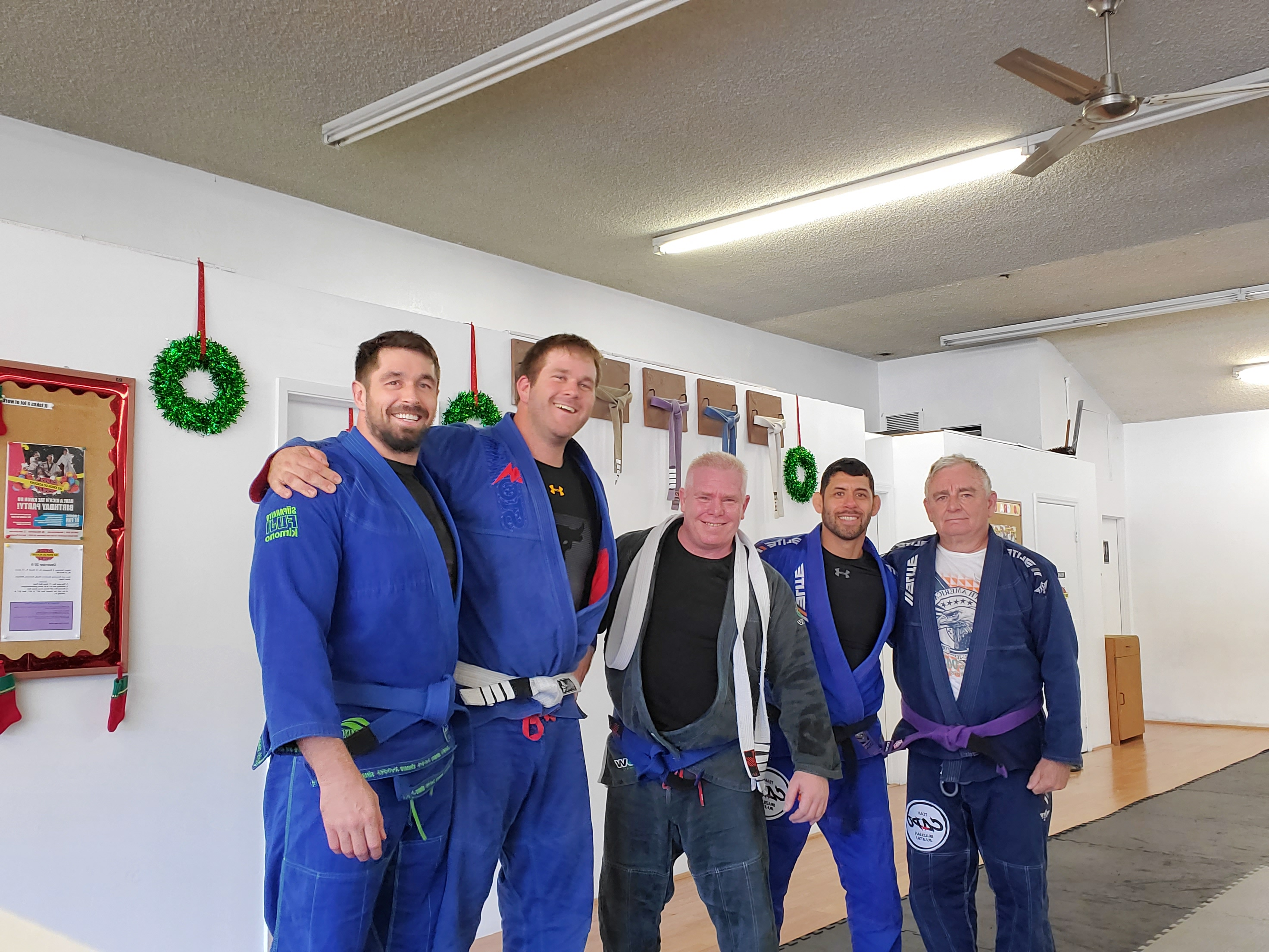 Congrats John on your Blue Belt!