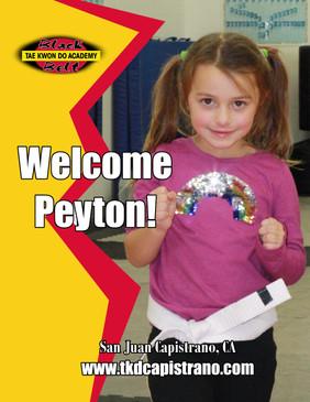 Welcome Peyton!