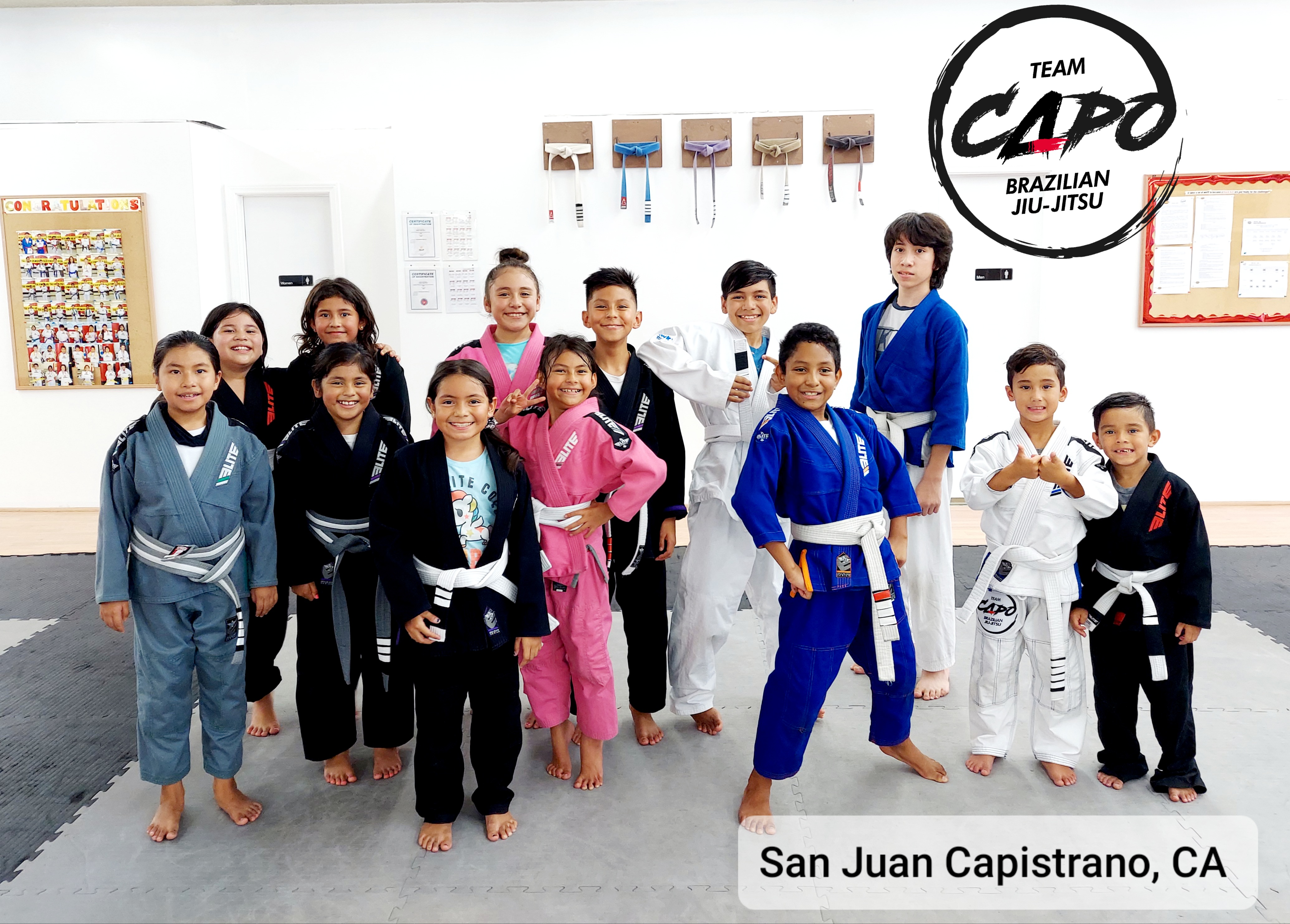 Team Capo BJJ kids