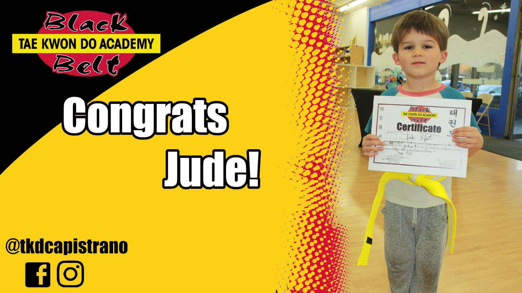 Congrats Jude!