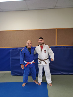 With Sensei Juan