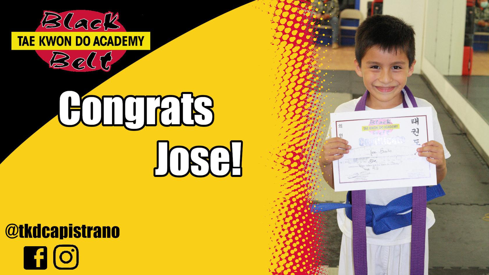 Congrats Jose!