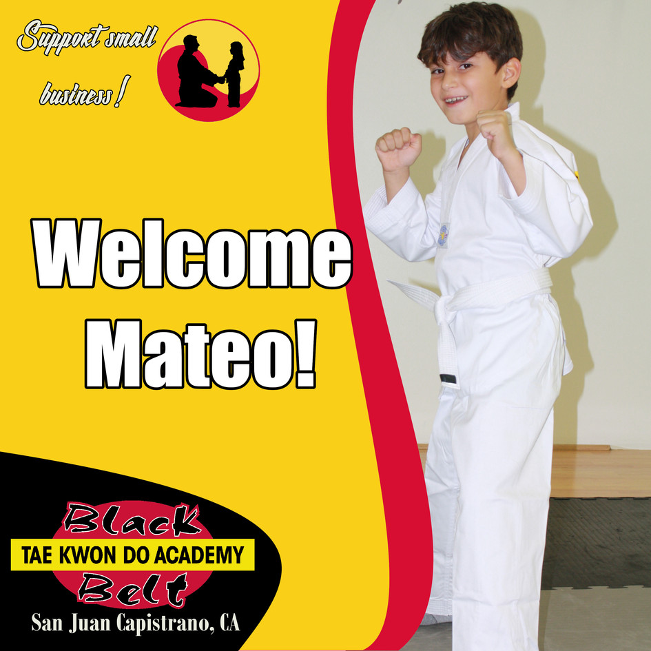 Welcome Mateo!
