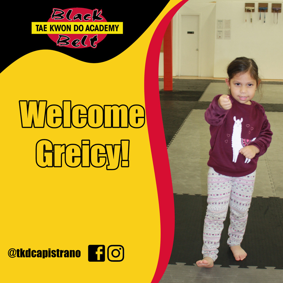 Welcome Greicy!