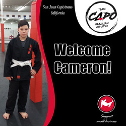Welcome Cameron!