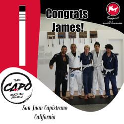 Congrats James!