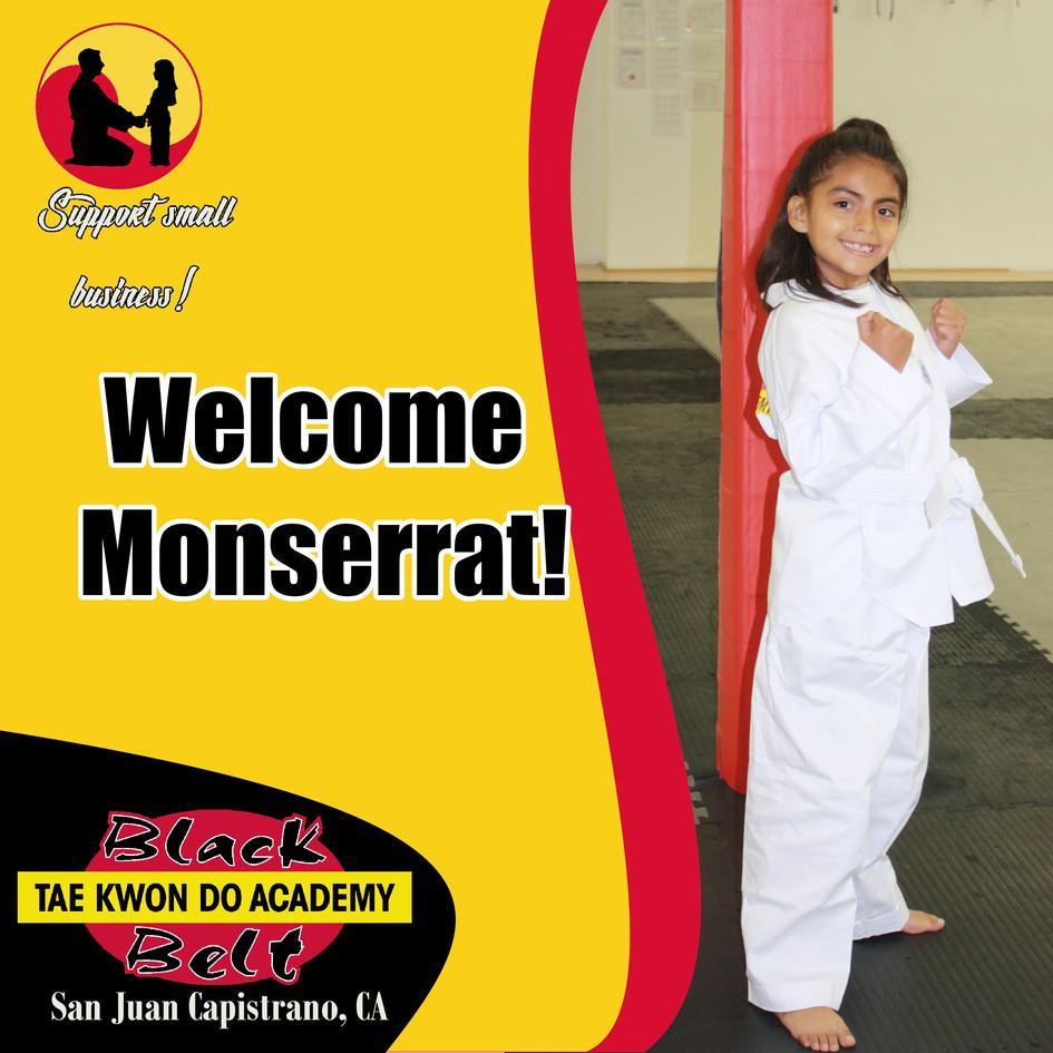 Welcome Monserrat!