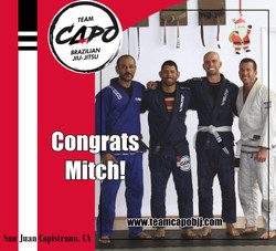 Mitch second stripe