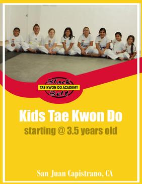Kids Tae Kwon Do