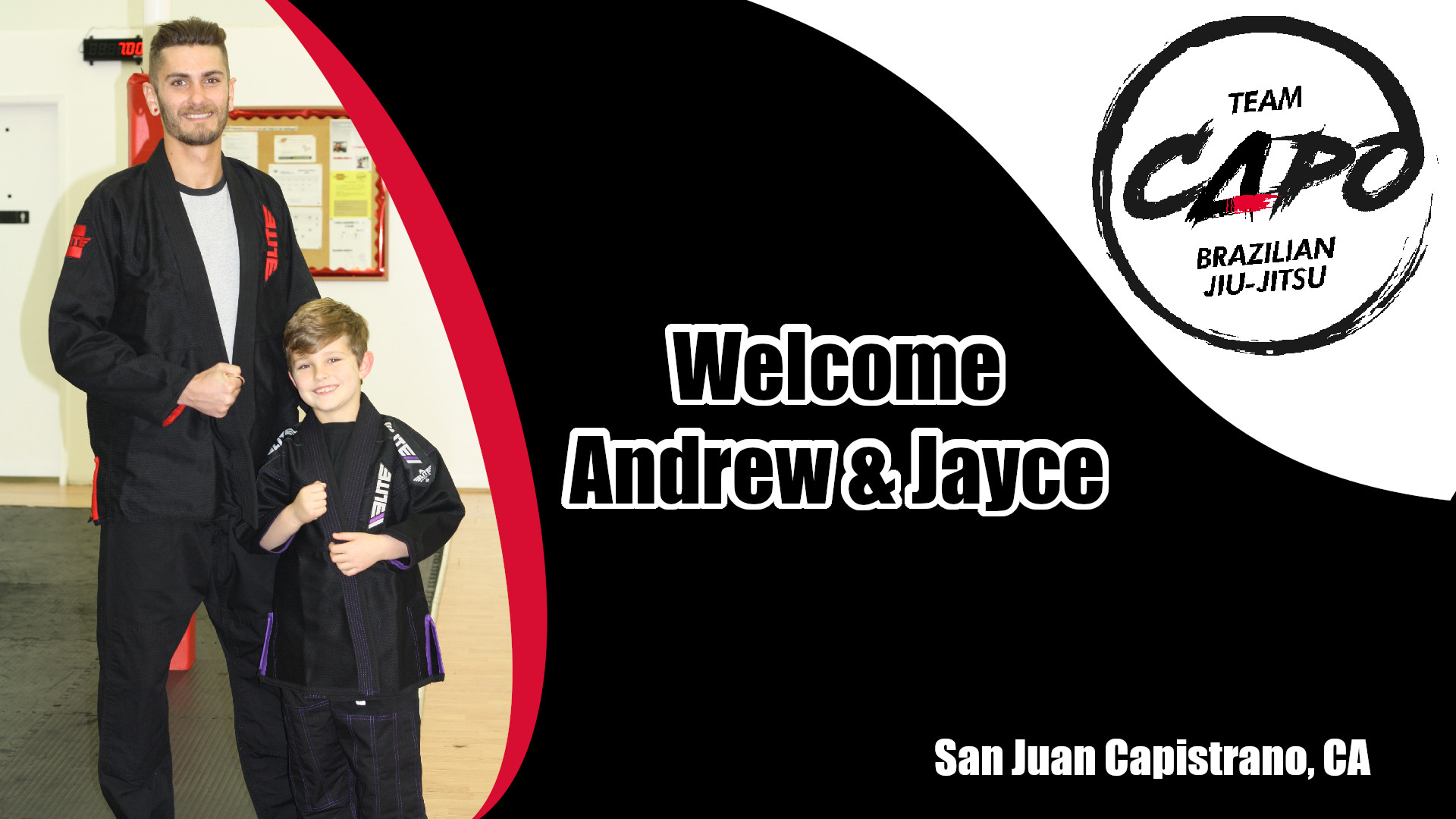 welcome Andrew & Jayce