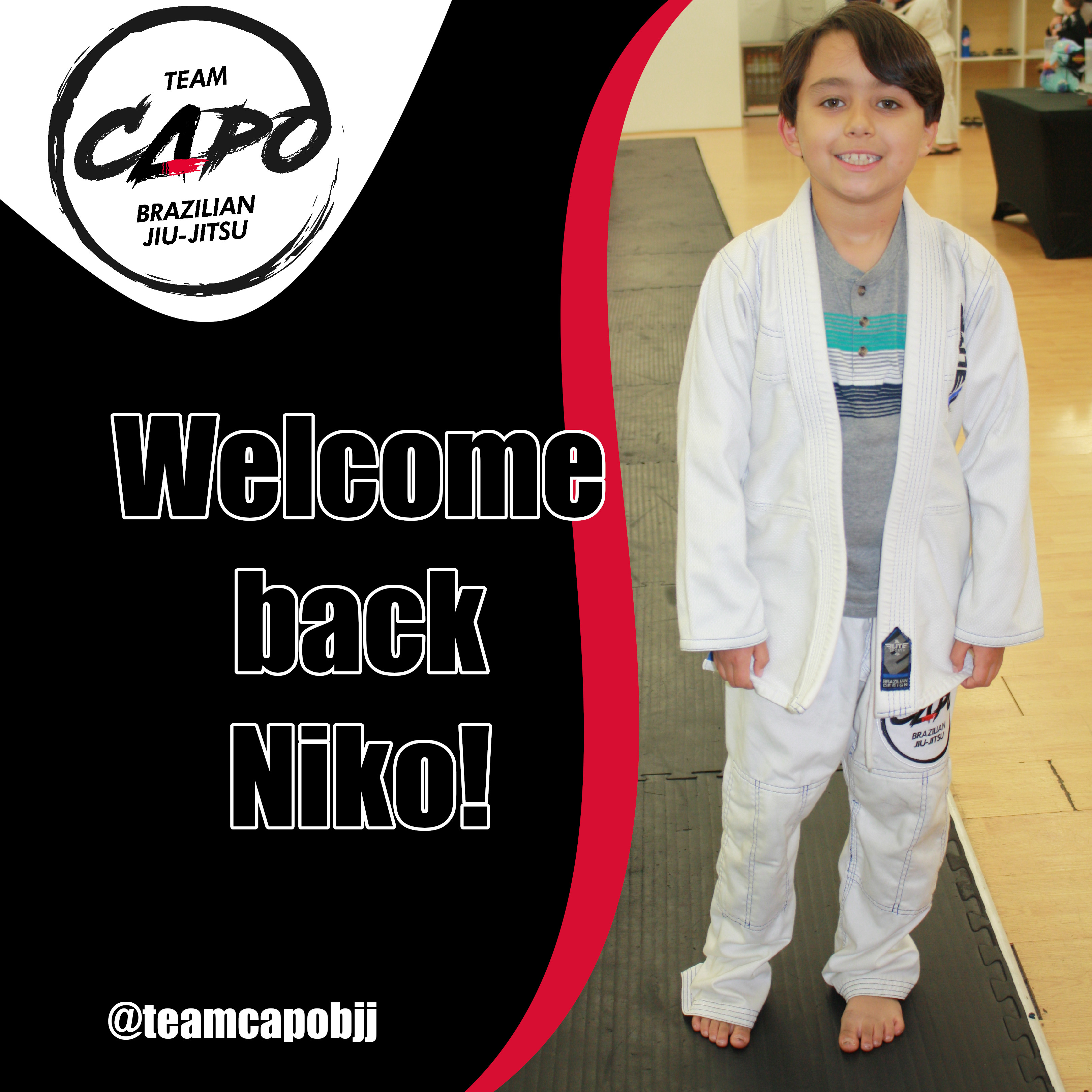 Welcome back Niko!