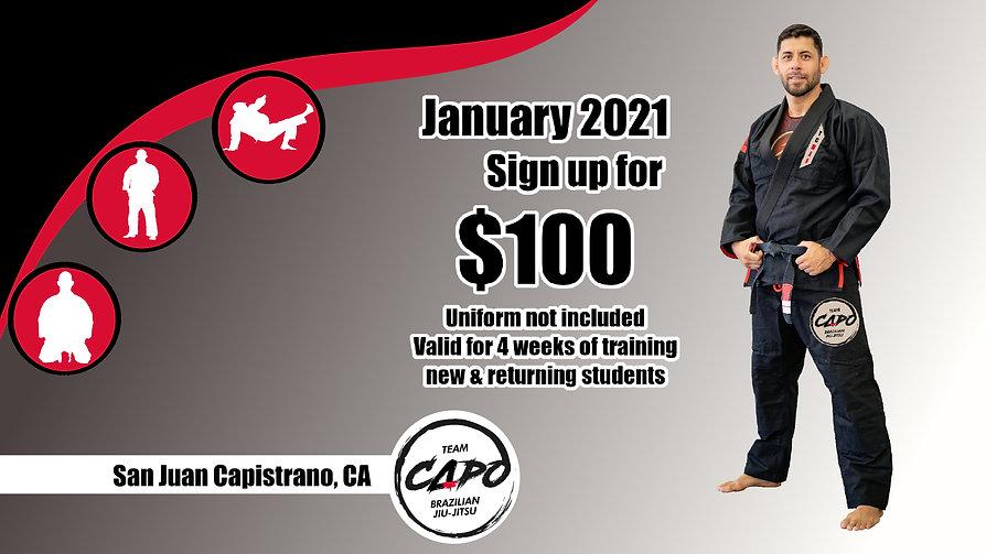 January 2021 offer