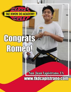 Congrats Romeo