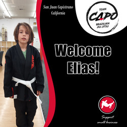 Welcome Elias!
