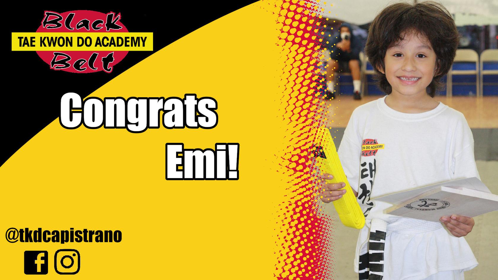 Congrats Emi