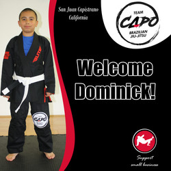 Welcome Dominick!