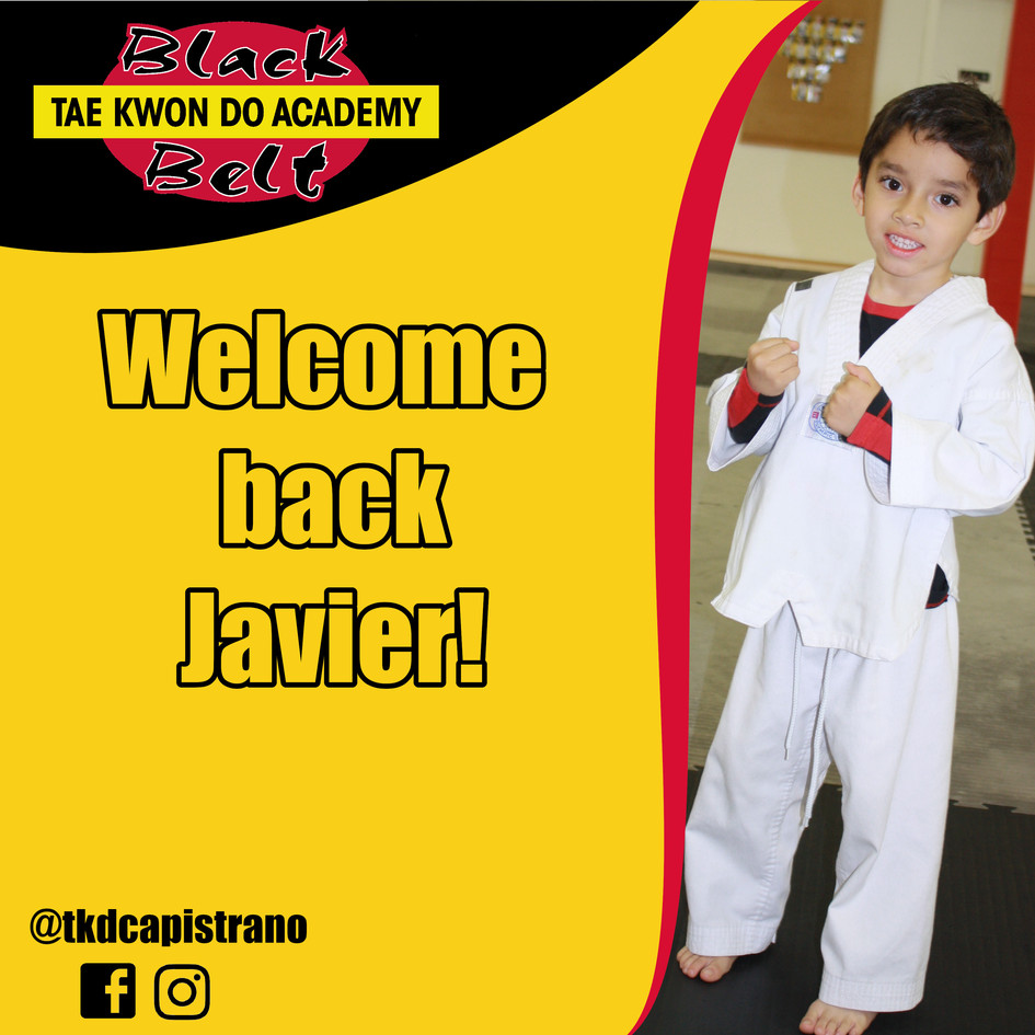 Welcome back Javier!
