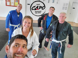 Callie from Renzo Gracie NY visiting