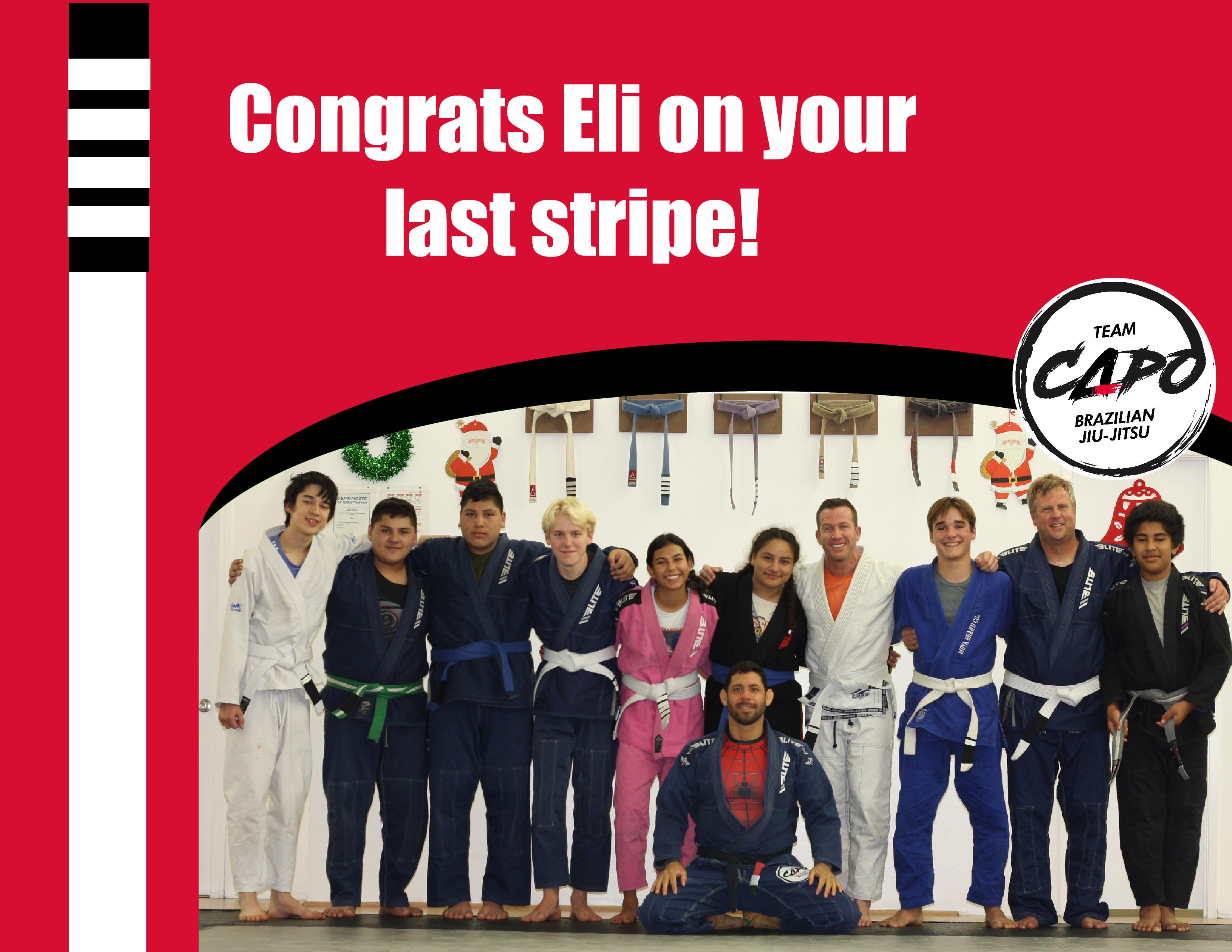 Eli last stripe