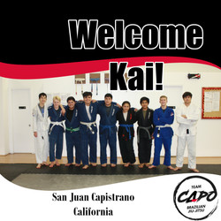 Welcome Kai!