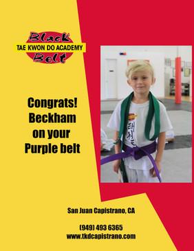 Beckham test