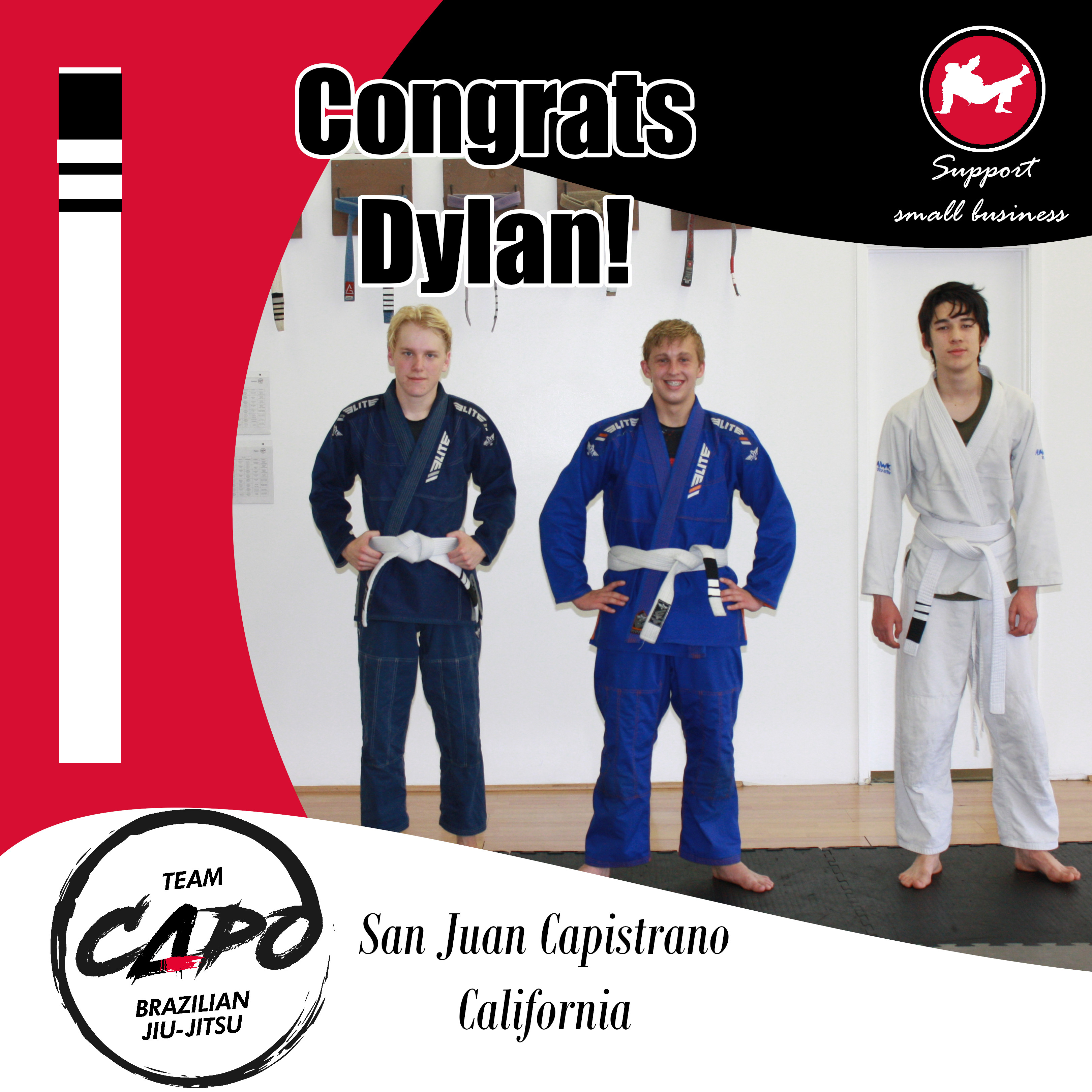 Congrats Dylan!