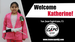 Welcome Katherine