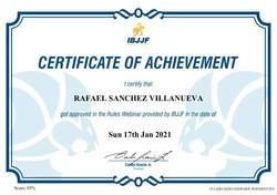 Certificate 2021