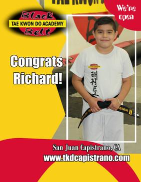 Congrats Richard