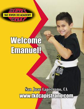 Welcome Emanuel!