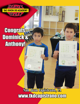 Congrats Anthony & Dominick