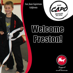 Welcome Preston!
