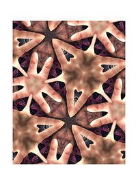 Kaleidoskop #4, 2020, Digitalfotoprint auf Hahnemühle, 80x60 cm
