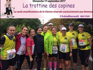 Trottine des copines à Antoigné - 17/09/2017