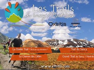 Trail estival du Sancy - X Trail Corrèze - Les Foulées du Viaduc à l'Isle-Jourdain - 26 et 27 09/20