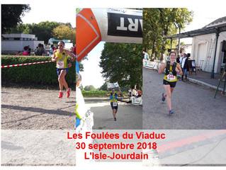 Les Foulées du Viaduc - L'Isle Jourdain - 30 septembre 2018