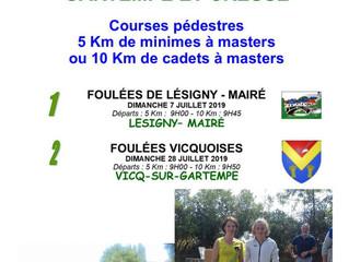 Foulées vicquoises - Vicq sur Gartempe - 28/07/19