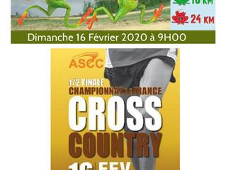 Le Feu au Lac à Châtellerault - 1/2 finale des Championnats de France de Cross Country à La Souterra