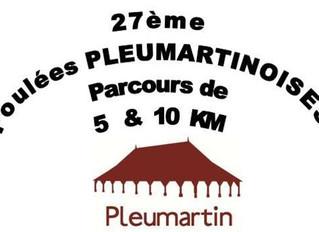 Les Foulées Pleumartinoises - 19/10/2014