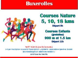 Trail des Buis à Buxerolles - 23/02/20