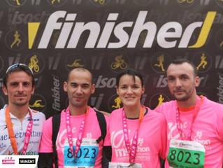 Relais à 4 marathon Toulouse - 23/10/2016