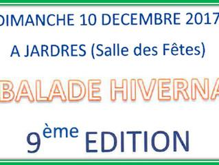 La Balade Hivernale à Jardres - 10/12/2017