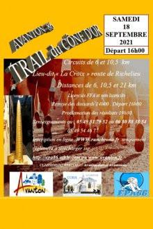 Trail du Cône d'Or à Avanton (86) - Semi marathon des Sables d'Olonnes (86)