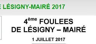Foulées de Lésigny-Mairé - 1/07/17