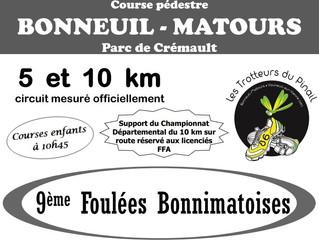 Les Foulées Bonnimatoises - 19/11/2017