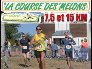 Course des Melons à Coulombiers - 02/09/2018