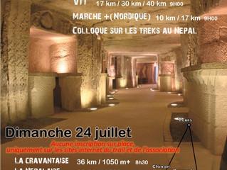 Trail des caves de Panzoult (37) - 24/07/2016