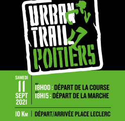 Urban Trail - Poitiers - 11/09/2021