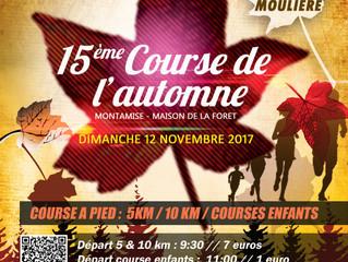Course de l'automne à Montamisé - 12/11/2017